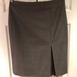 Ann Taylor Pin Striped Pencil Skirt